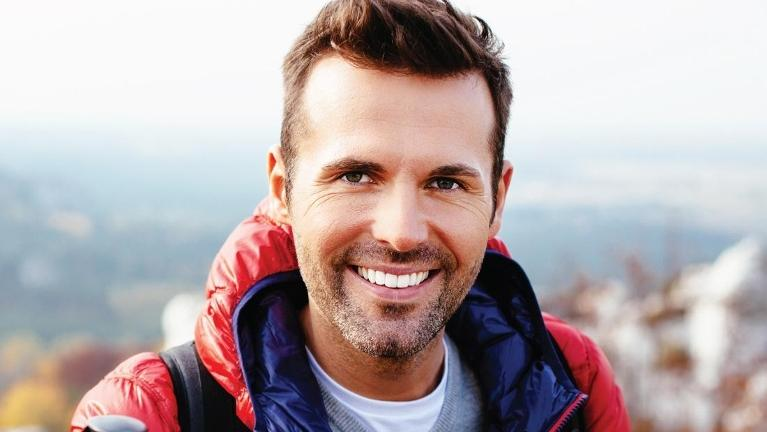 Man on a hike | Dental Implants in Springfield IL