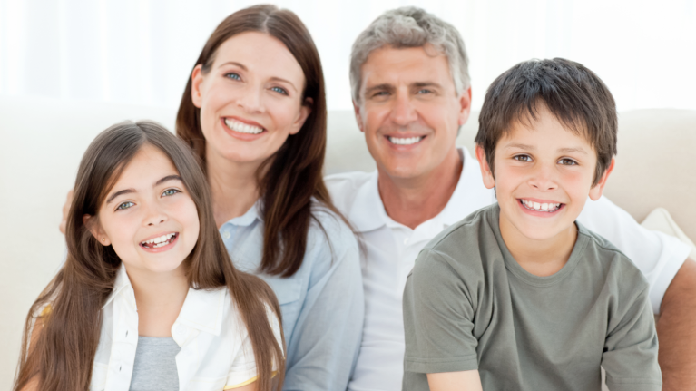 A Smiling Family | Springfield IL Dentist
