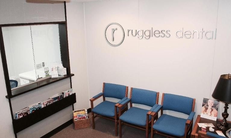 reception room | ruggless dental
